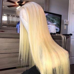 Full Lace Wig 26 Inch Brazilian #613 Blonde